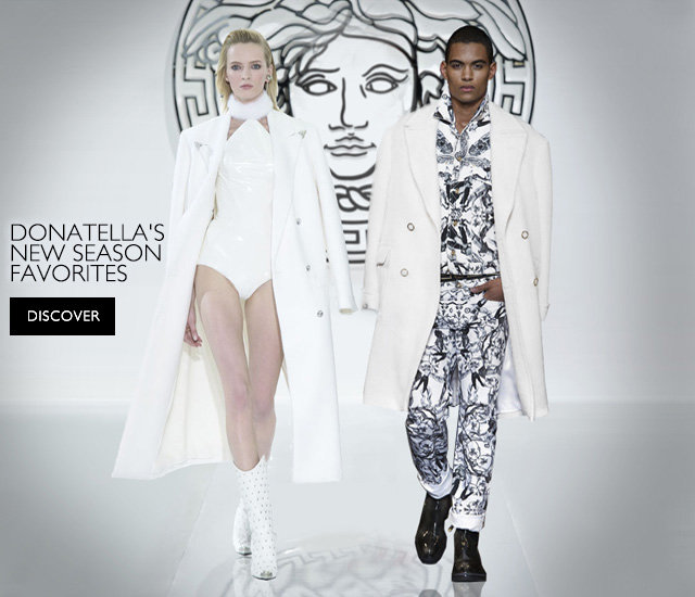 Versace - Donatella's New Season Favorites