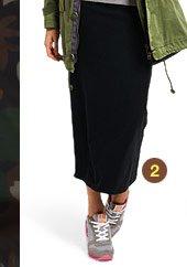 Tubular Maxi Skirt