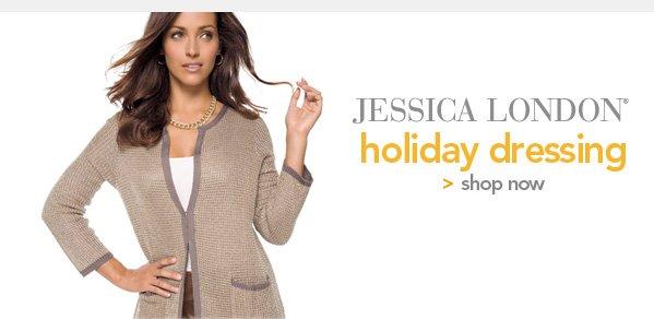 Shop Jessica London Holiday Dressing