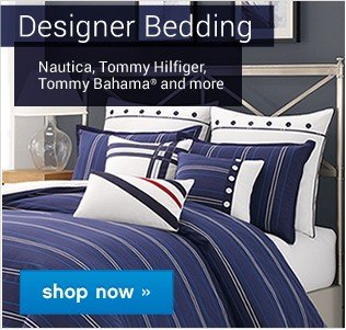 Designer Bedding. Shop now.