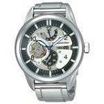 Orient FH03002B Mens Retro Future Motorcycle Skeleton Black Dial Automatic Watch