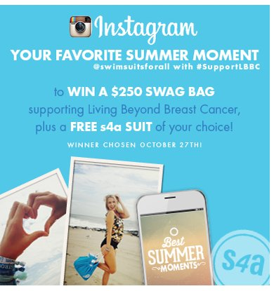 Your Favorite Summer Moment to WIN a $250 Swag Bag + Free s4a suit of your choice