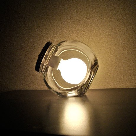 Modern Jar Lamp // Large