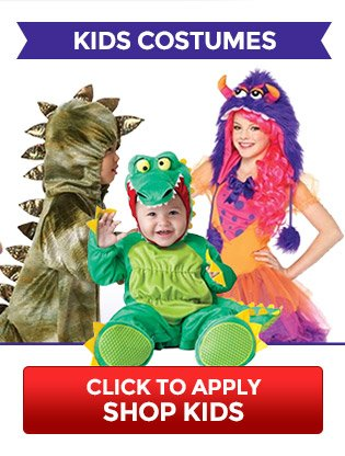 Free Shipping on Kids Costumes