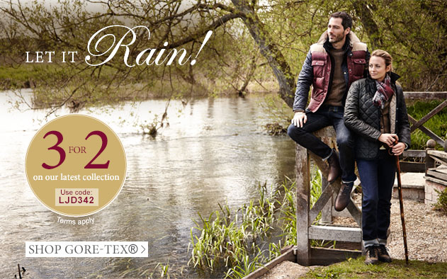 Let It Rain! 3 for 2, use offer code: LJD342