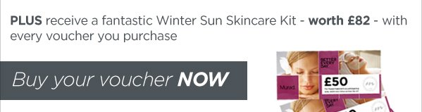 PLUS FREE Winter Sun Skincare Gift!