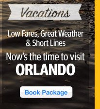 Orlando - Now is the time! Low Fares and Great Weather