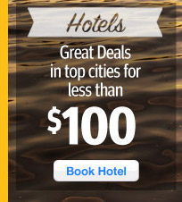Great deals on hotels in top cities under $100