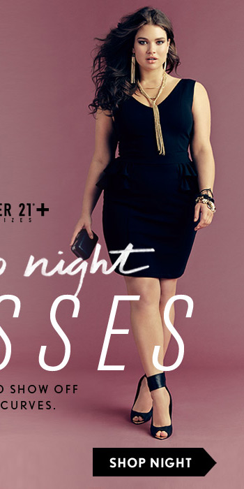 Forever21 Plus: Day to Night Dresses