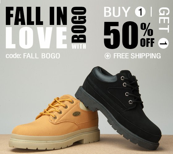 Buy 1 Get 1 50% off + Free Shipping