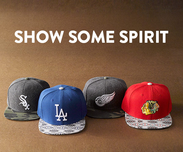 SHOW SOME SPIRIT
