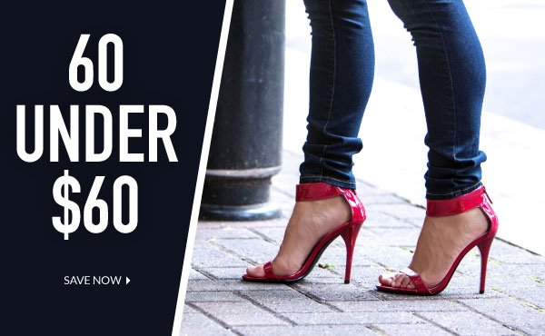 Sixty Shoes For Under $60