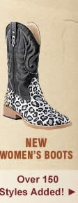 New Womens Boots on Sale