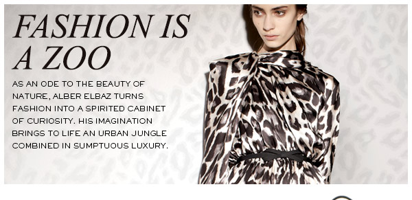 LANVIN ANIMAL PRINT COLLECTION