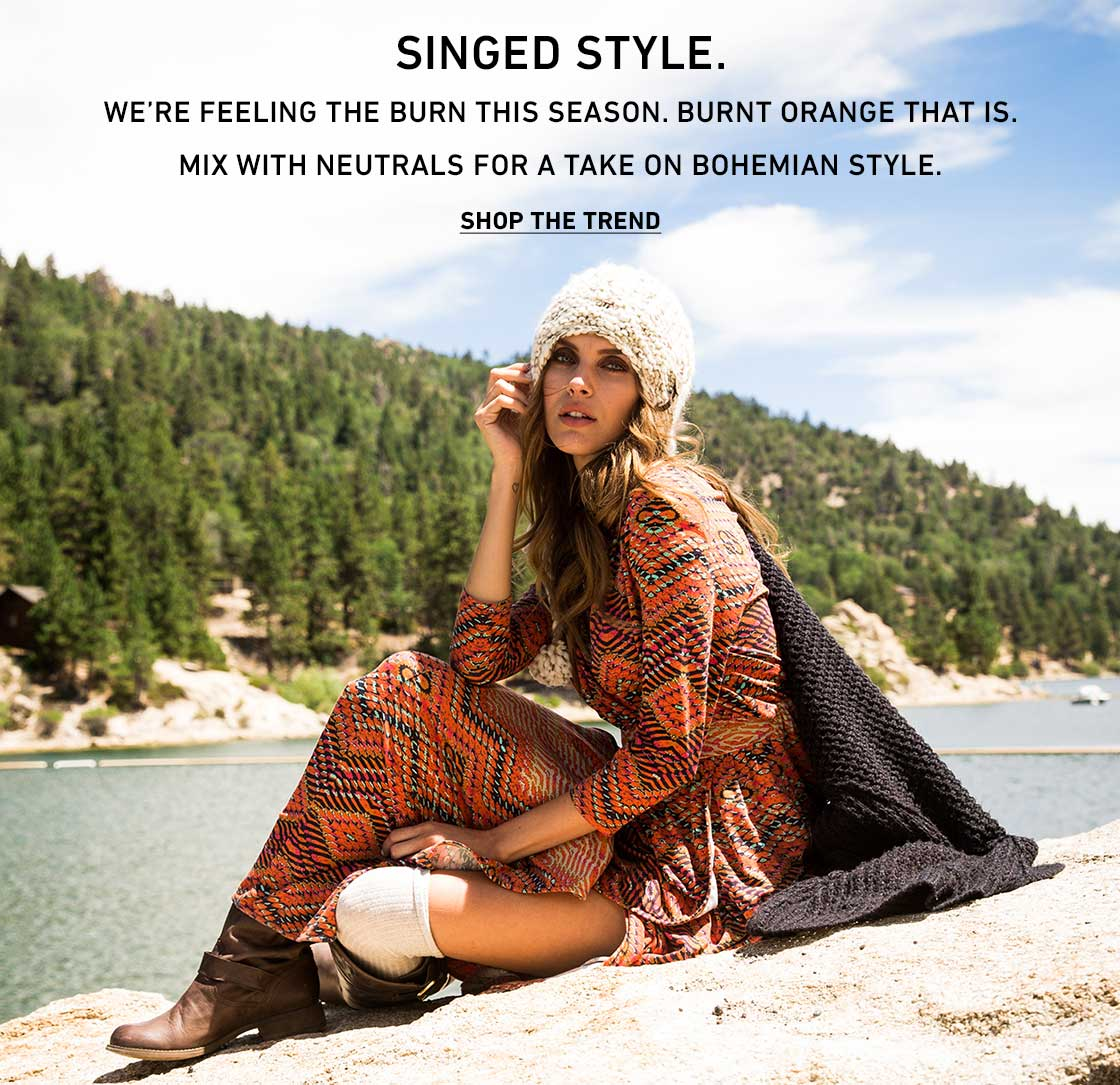 Singed Style: Shop The Trend