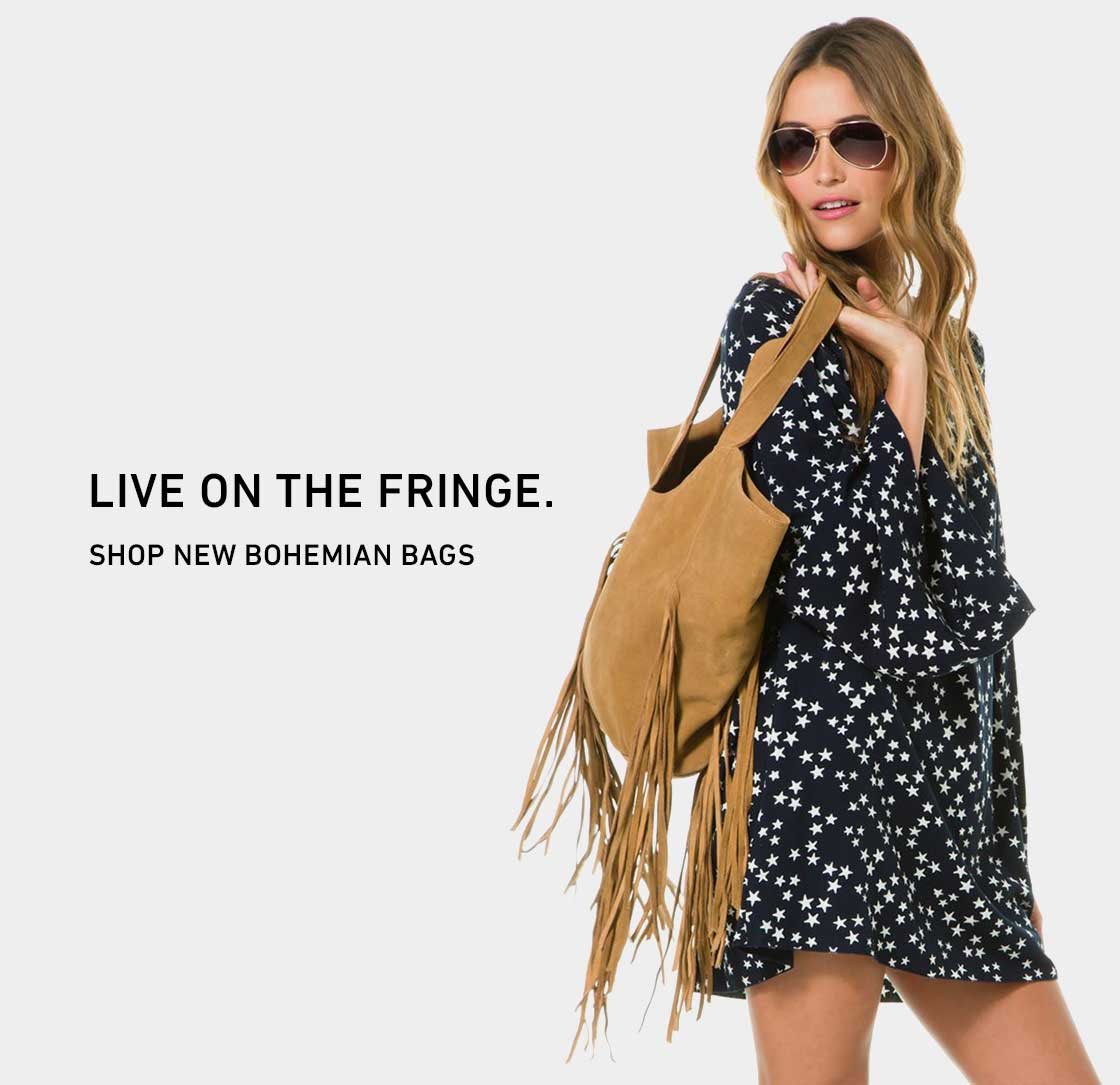 Live On The Fringe: Shop New Boho Bags