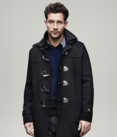The Hooded Toggle Coat