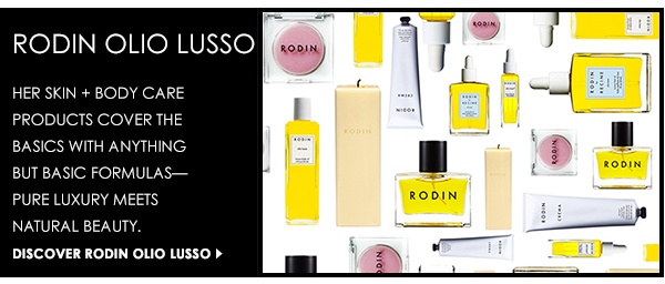 Discover the luxury skin + body care line from Rodin Olio Lusso!