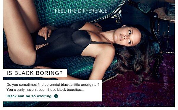 Is black boring?