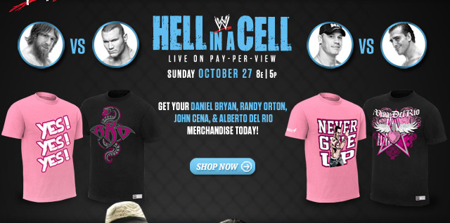 Hell in a Cell Superstar's Merchandise