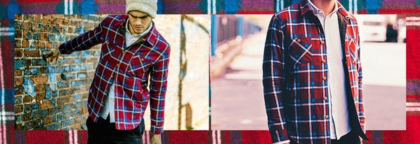 Shop NEW Flannel Jackets & More ft. OURS