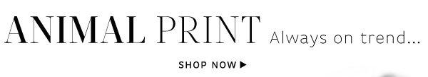 Shop Animal Print