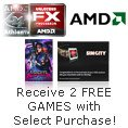 AMD - Receive 2 FREE GAMES with Select Purchase!