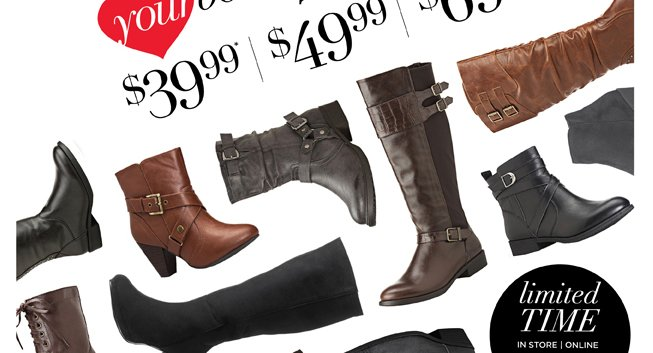 Love Your Boots Sale
