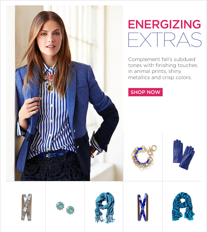 ENERGIZING EXTRAS | SHOP NOW