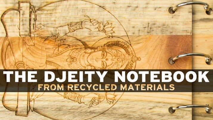 The Bodhisattva DJ God Notebook