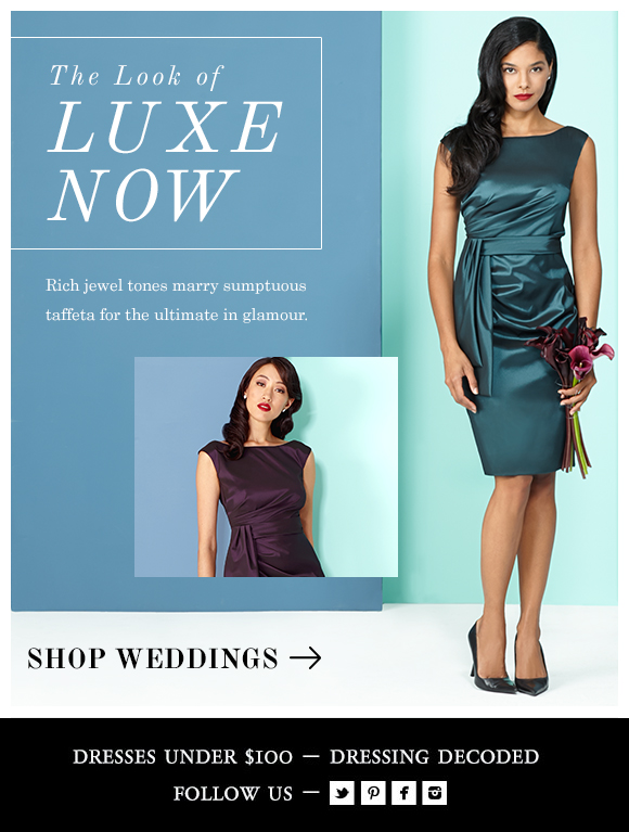 The Look of Luxe Now
