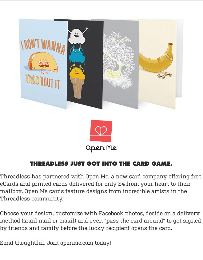 Threadless Just Got Into The Card Game