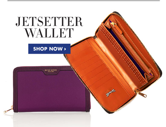 Jetsetter Portfolio Travel Wallet