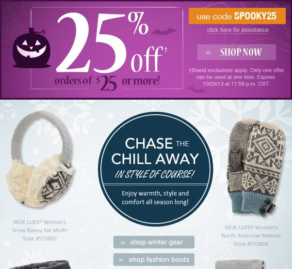 Chase The Chills In Style!