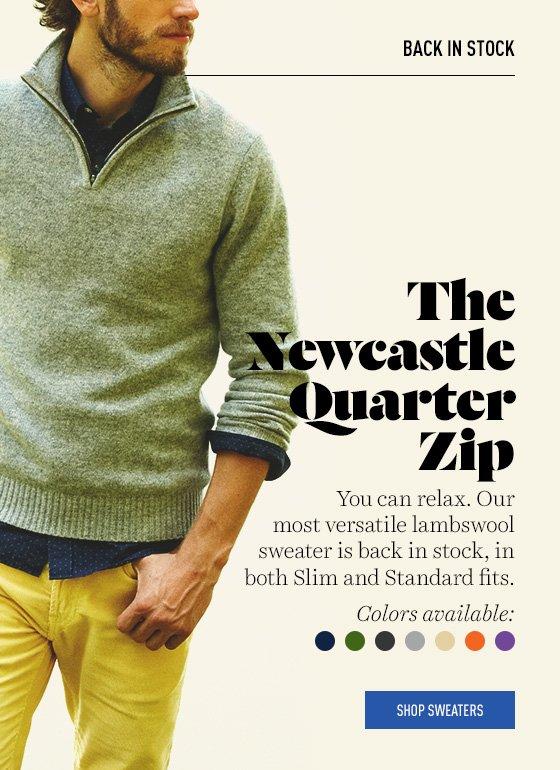 Lambswool Sweaters Back In Stock