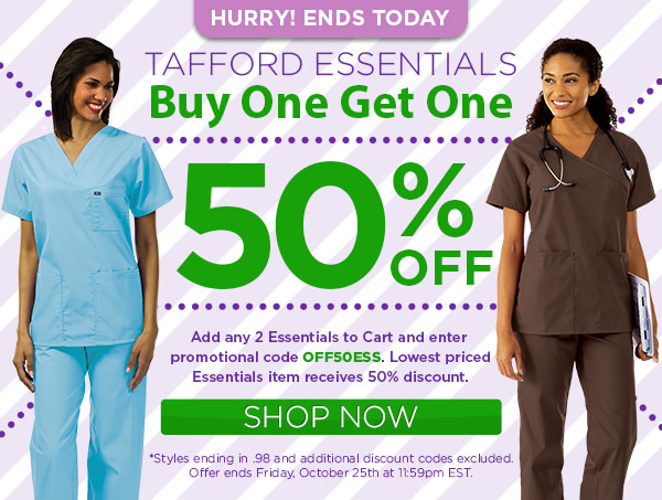 Tafford Essentials, Buy One Get One 50% Off with Promo Code OFF50ESS - Shop Now