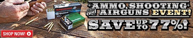 Sportsman's Guide's Ammo, Shooting & Airguns Sale, Save Up To 77%!