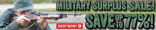 Sportsman's Guide's Military Surplus Sale! Save Up To 77%!