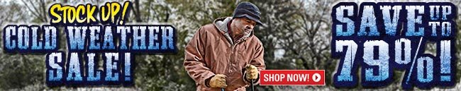Sportsman's Guide's Cold Weather Sale! Save Up To 79%!