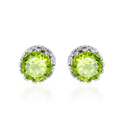 Gemstone Stud Earrings From $10