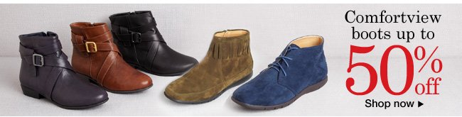 Comfortview Boots up to 50% off