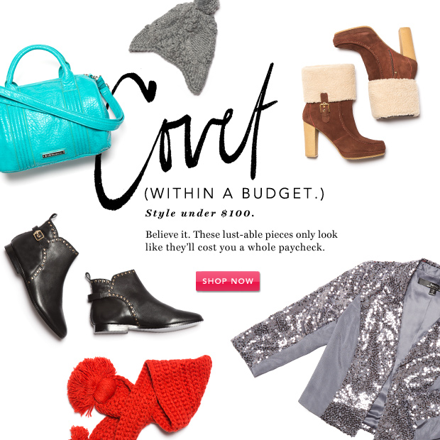 Covet. (Within a Budget.) Women's Fall Style Under $100.