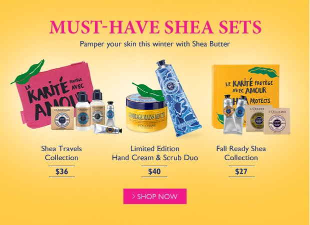 Must-Have Shea Sets