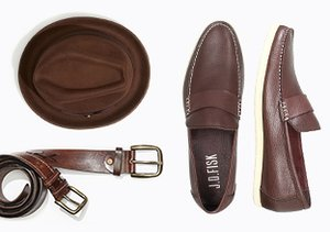 Shoes & Accessories by Color: Brown