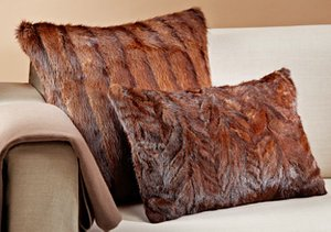 Upcycled: Fur Pillows