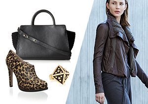 Downtown Chic: Leopard, Leather & More