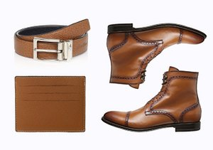 Shoes & Accessories by Color: Cognac