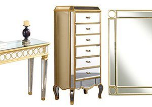 Reflect Great Style: Mirrored Furniture