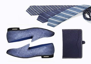 Shoes & Accessories by Color: Blue