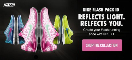 NIKE FLASH PACK iD | REFLECTS LIGHT. REFLECTS YOU. | SHOP THE COLLECTION
